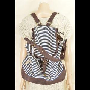 Steve Madden Bags - Steve Madden Girl bag backpack canvas blue white s